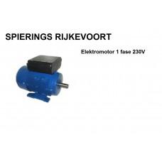 Elektromotor 0,75kw / 1pk 1400rpm 230v