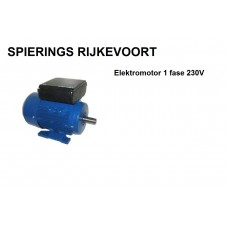 Elektromotor 1,1kw / 1,5pk 1400rpm 230v