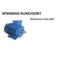 Elektromotor 4kw / 5,5pk 2800rpm 230V / 380V 100