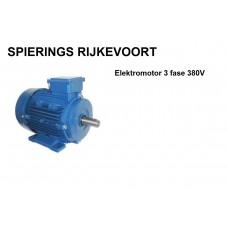 Elektromotor 0,75kw / 1pk 1400rpm 380v