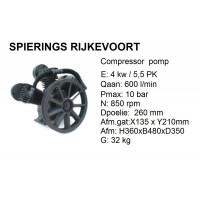 pomp 3 cil 630L/min compressor