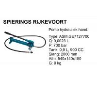 pomp hydr. 0,9L 700bar