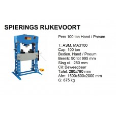 pers 100ton Hydr. Pneum