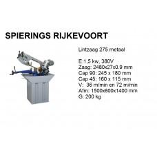 Lintzaagmachine  T275 380V