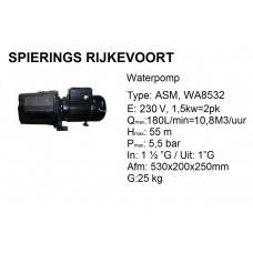 pomp water 2pk 230v 180L/min