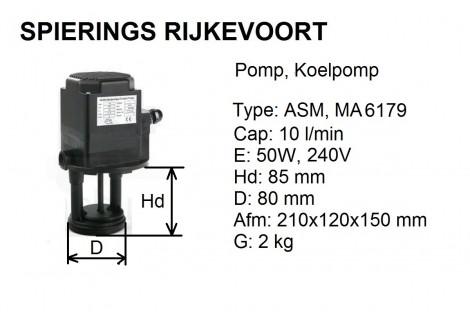 pomp koelpomp 230V