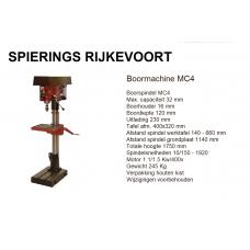 Boormachine MC4 380v Industrie