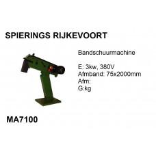 Bandschuurmachine 75x2000 380v Profi
