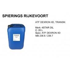 ATF DEXRON II D Transmissieolie 20L