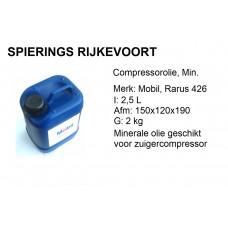 Compressorolie Mobil 2,5L