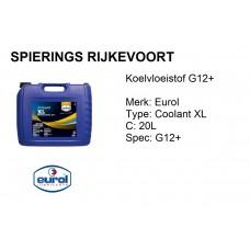 Koelvloeistof G12+ Eurol Coolant XL 20L