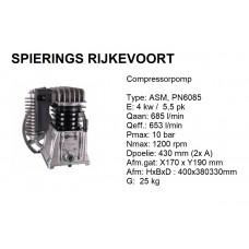 Pomp Alu 2 cil 5,5pk 685L/min compressorpomp