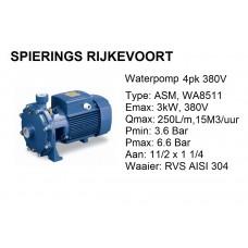 pomp water 4pk 380v 250L/min