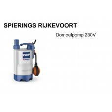 Dompelpomp 230v