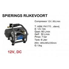 Compressor 12V Tank 6L