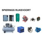 Compressor 7,5pk 900L/min 380v ster driehoek 13 bar