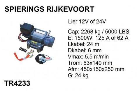 Lier 2268kg 24V