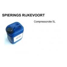 Compressorolie Mobil 5L