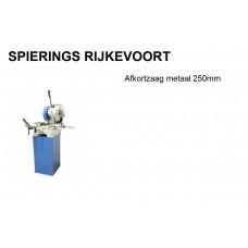 Afkortzaagmachine metaal 250mm 380v