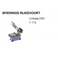 Lintzaagmachine T 712 230V