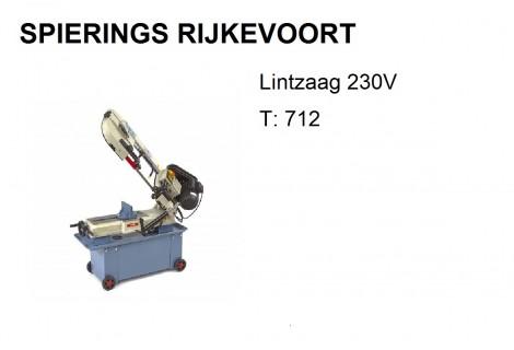 Lintzaagmachine HBM T 712 230V