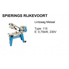 Lintzaagmachine T 115 230V