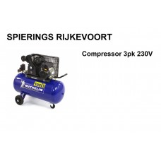 Compressor 3pk 250L/min 230V Michelin