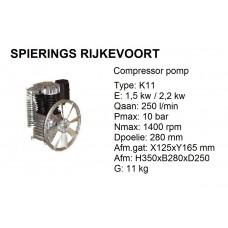 k11 pomp inc verzenden NL
