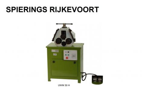 Wals Profielwals Type 30H 380V met rollen UWM