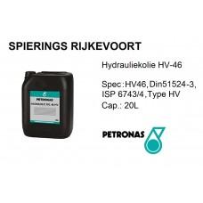Hydrauliekolie HV-46 Petronas 20L
